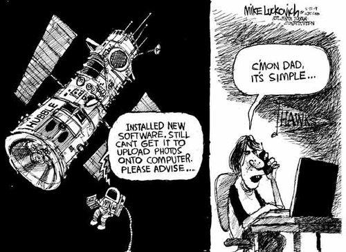 It's Not Rocket Science - Luckovich
