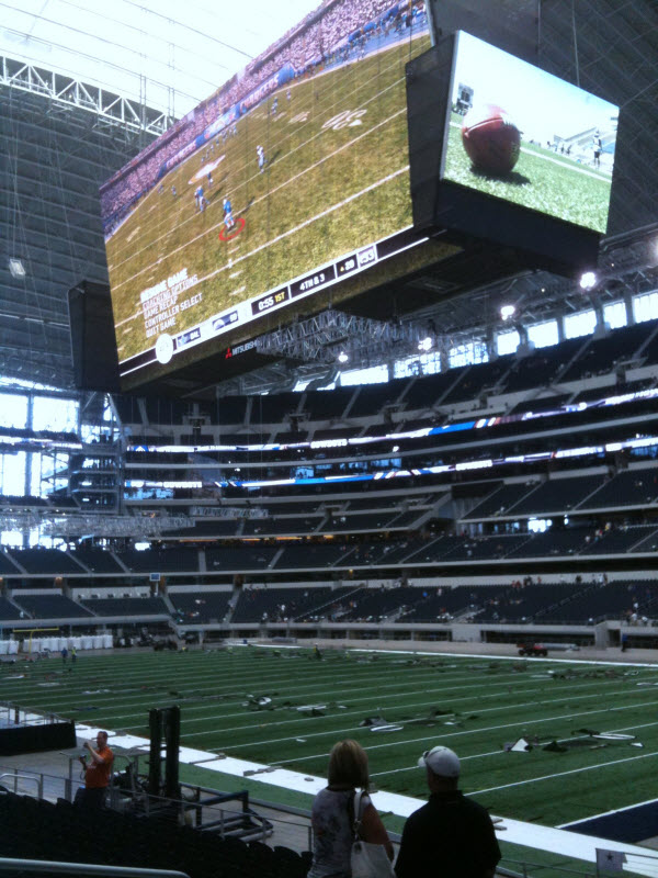 Dallas Cowboys Stadium. 090808 Cowboys Stadium Video
