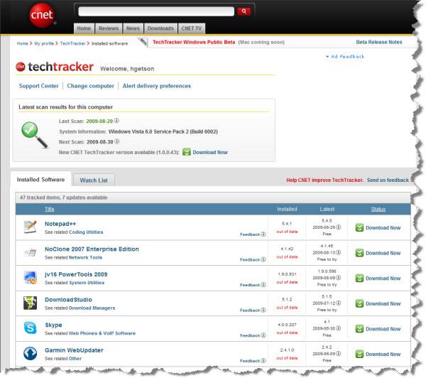 090830 TechTracker Scan
