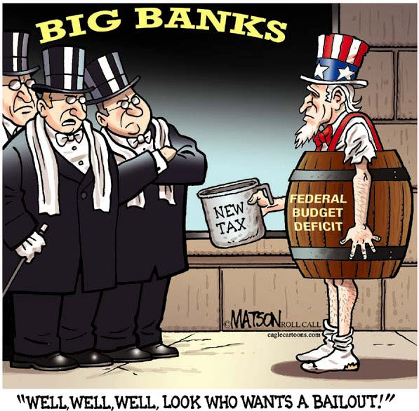 Look Who Wants a Bailout