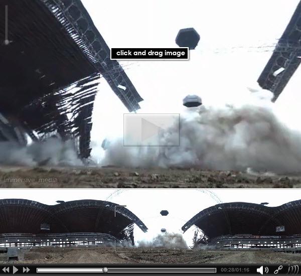 100423 Texas Stadium Demolition Immersion Video