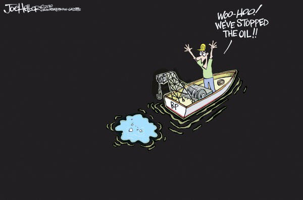 100716 We Stopped the Oil Cartoon from Heller