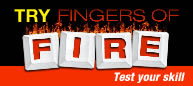 100805 Fingers of Fire Typing Challenge