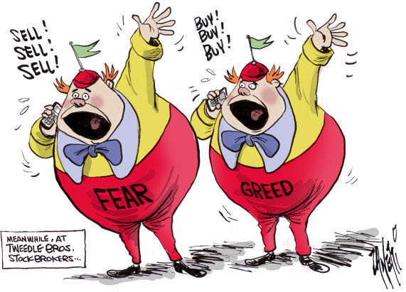 100531 Fear and Greed as Tweedle Dee and Tweedle Dumb