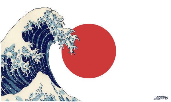 110313 Japan's Tsunami - Sutovec Cartoon
