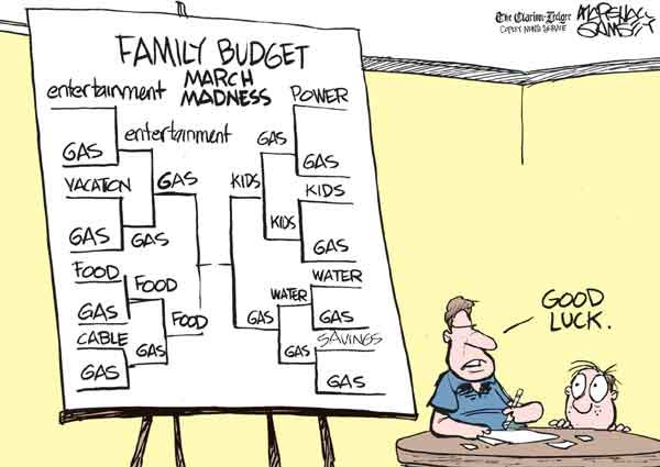 110327 Family Budget March Madness