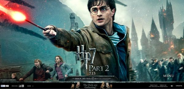 110710 Harry Potter Movie Poster