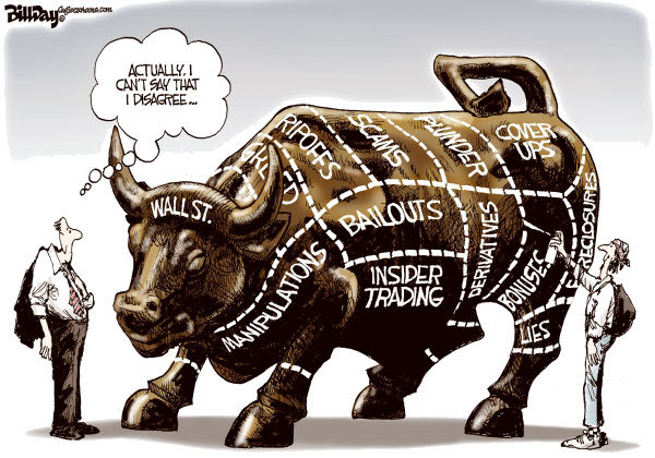 111022 Wall Street Protests - Day Cartoon