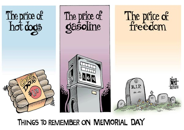 110530 Things to Remember on Memorial Day