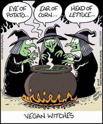 111030 Vegan Witches