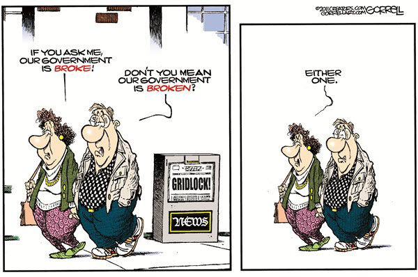111125 Broke or Broken - Gorrell Cartoon