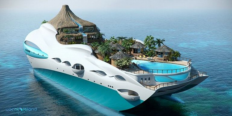 Top of Yacht