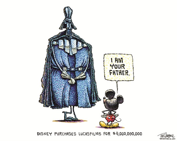 121103 Disney Purchases LucasFilms